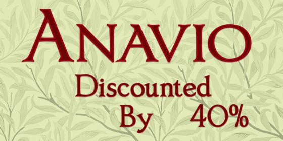 Anavio_sale