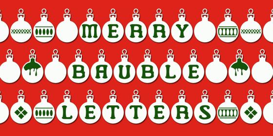 MerryBaubleLetters_Poster1