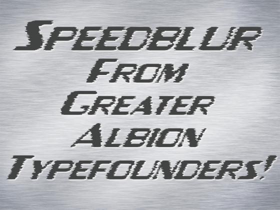 Speedblur_Poster1