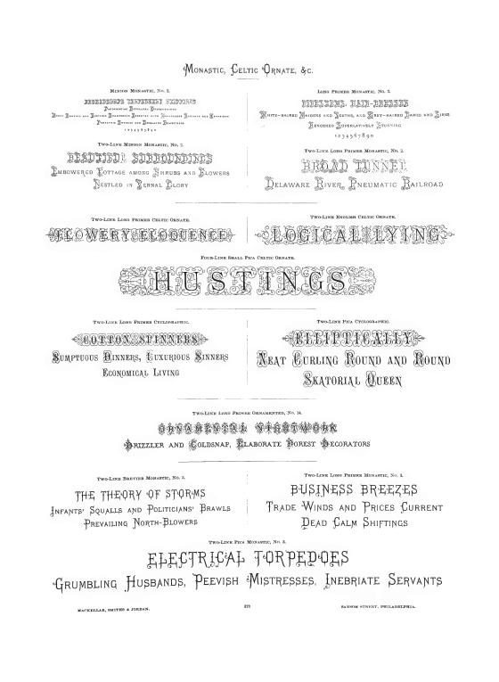 Pages from MacKellar, Smith & Jordan Specimen Book-4