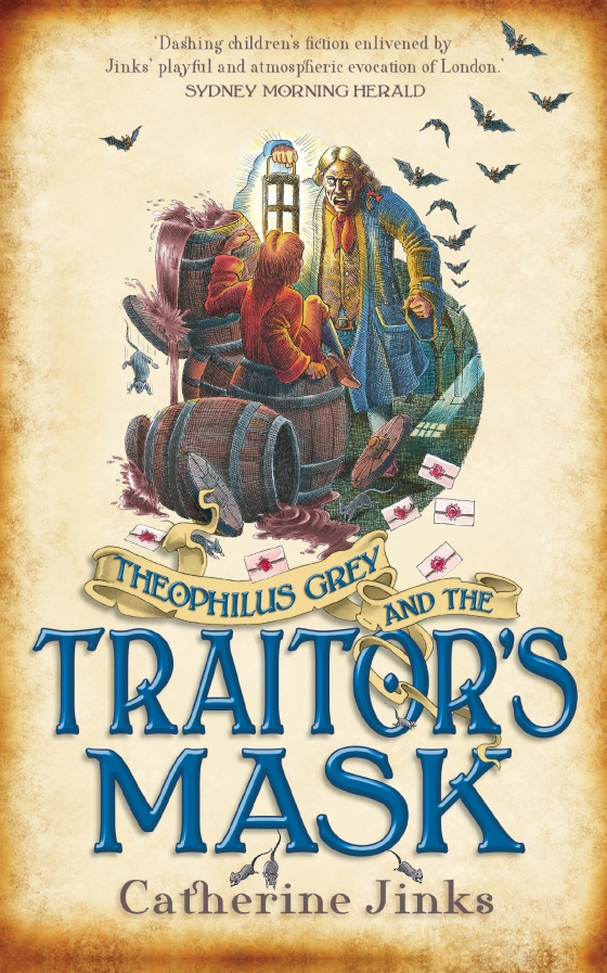 Theophilus Grey and the Traitor's Mask | FINAL COVER (11 January