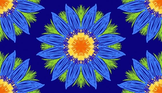 blue-daisies